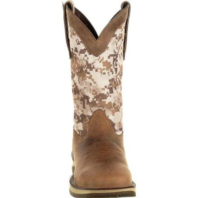 Rebel™ by Durango® Desert Camo Pull-on Western Boot, , large