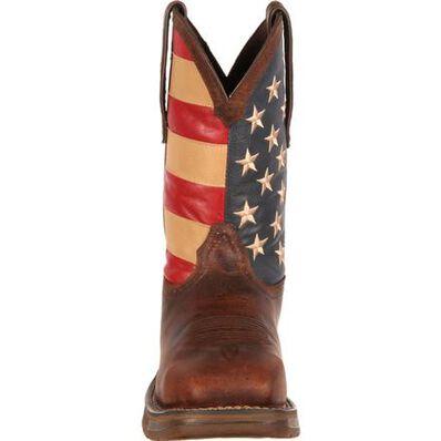 Bota vaquera de bandera con punta de acero Rebel de Durango, , large