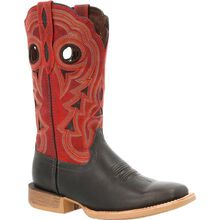 Durango® Lady Rebel Pro™ Women's Black & Crimson Western Boot