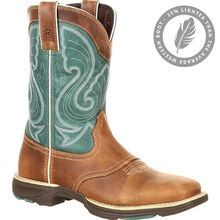 Durango® Ultra-Lite™ Women's Emerald Saddle Western Boot