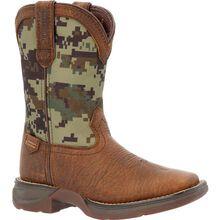 Lil' Rebel™ by Durango® Little Kids' Digi Camo Western Boot
