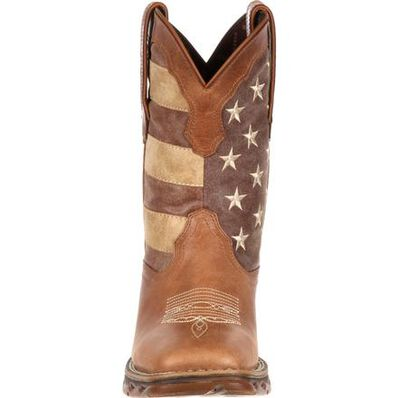 Lady Rebel by Durango Faded Rebel Flag Western Boot, , large