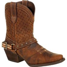 Crush™ by Durango® Women's Brown Ventilated Shortie Boot