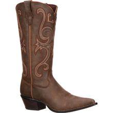 Modelo Jealousy de botas vaqueras de color marrón Crush by Durango para damas (#RD3593)