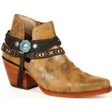 Crush™ by Durango® Women's Antique Silver Western Bootie