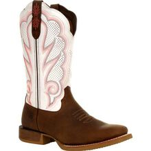 Durango® Lady Rebel Pro™ Women's White Ventilated Western Boot