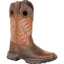 Lil' Durango® Maverick XP™ Big Kids Brown Western Work Boot