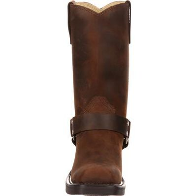 Bota con arnés marrón de Durango, , large