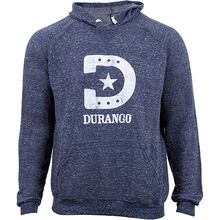Durango® Unisex Heathered Blue Hooded Sweatshirt
