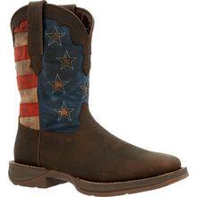Rebel™ by Durango® Vintage Flag Western Boot