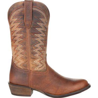 Durango® Rebel Frontier™ Distressed Brown R-Toe Western Boot, , large