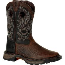 Lil' Durango® Maverick XP™ Little Kid's Black Western Boot