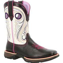 Lady Rebel™ by Durango® Women's Raven Black & White Western Boot
