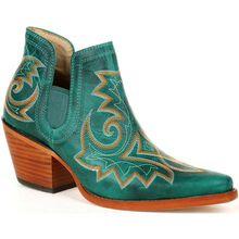 Crush™ by Durango® Women's Turquoise Western Fashion Bootie