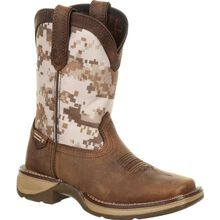 Lil' Rebel™ by Durango® Little Kids Desert Camo Western Boot