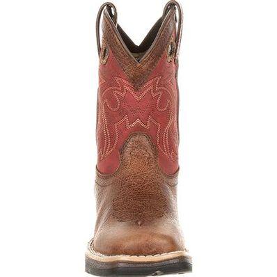 Lil' Rebel™ by Durango® Little Kids' Waterproof Western Saddle Boot, , large