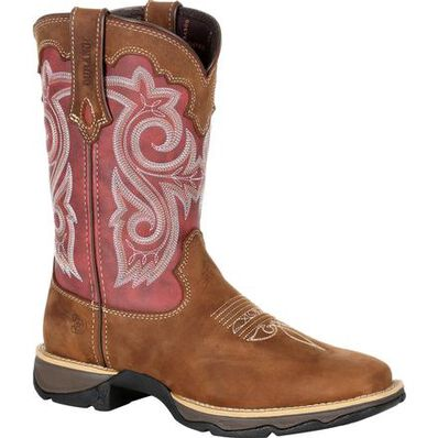Lady Rebel™ by Durango® Women's Red Western Boot, , large