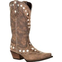 Crush™ by Durango® Women's Floral Western Boot
