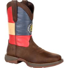 Rebel™ by Durango® Georgia State Flag Western Boot