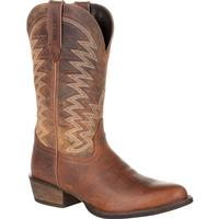 Durango® Rebel Frontier™ Distressed Brown R-Toe Western Boot, , medium