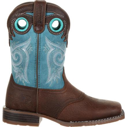 Durango® Lil' Mustang™ Little Kids Western Saddle Boot, , large