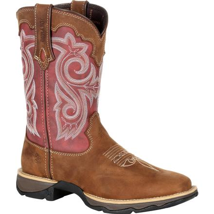 Lady Rebel by Durango Women's Red Western Boot, , large