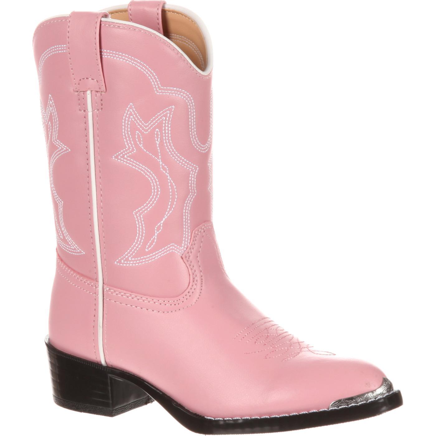 f51b6b09a9 Botas vaqueras rosadas para niñas. Bota Durango  estilo  BT858