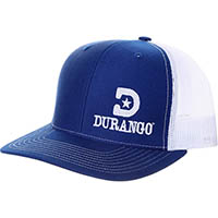Durango Logo Ball Cap, BLUE, medium