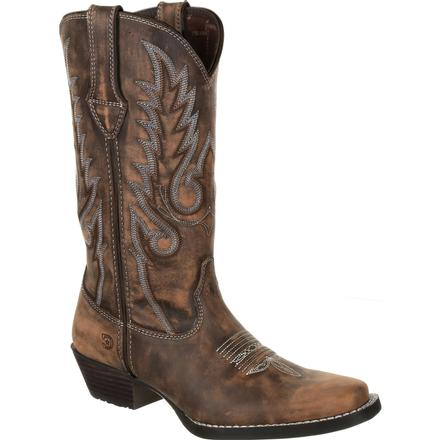 Durango® Dream Catcher™ Women's Distressed Brown Western Boot, , large