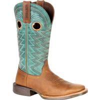 Durango Lady Rebel Pro Women's Teal Western Boot, , medium