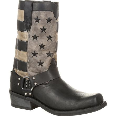 Durango® Black Faded Flag Harness Boot