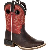 Durango Lil' Rebel Pro Little Kid's Red Western Boot, , medium