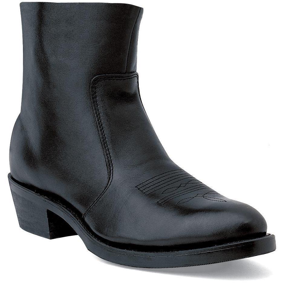 70c0754d7f Bota Durango  Botas vaqueras con cierre lateral y cuero negras de ...