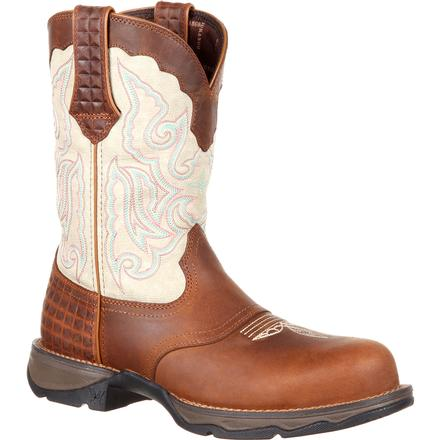 Lady Rebel™ by Durango® Women's Composite Toe Saddle Western Boot
