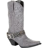 Crush by Durango Women's Graphite Flag Accessory Western Boot, , medium