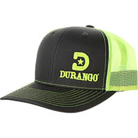 Durango Logo Ball Cap, Bright Lime, medium