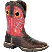 Lady Rebel by Durango Women's Gator Emboss Western Boot, , medium
