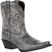 Crush by Durango Women's Pewter Shortie Western Boot, , medium