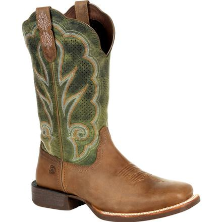 Durango® Lady Rebel Pro™ Women's Ventilated Olive Western Boot