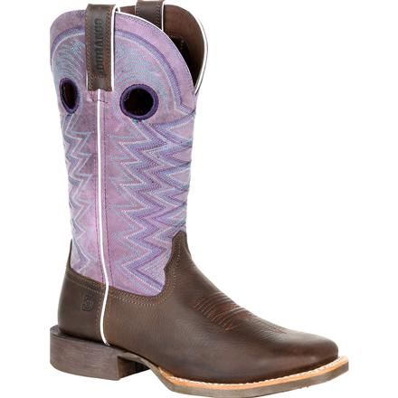 Durango Lady Rebel Pro Women's Amethyst Western Boot, , large