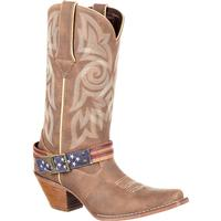 Crush by Durango Women's Flag Accessory Western Boot, , medium