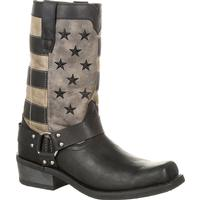 Durango® Black Faded Flag Harness Boot, , medium