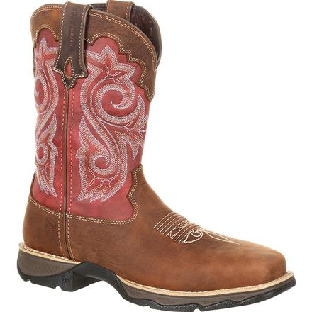 Lady Rebel™ by Durango® Women's Waterproof Composite Toe Western Work Boot