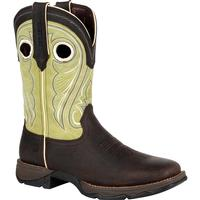 Lady Rebel™ by Durango® Women's Lime Western Boot, , medium