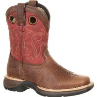 Lil' Rebel™ by Durango® Little Kids' Waterproof Western Saddle Boot, , medium