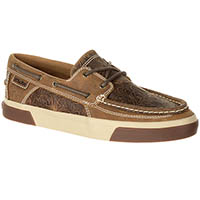 Durango Music City Women's Western Emboss Boat Moc, , medium