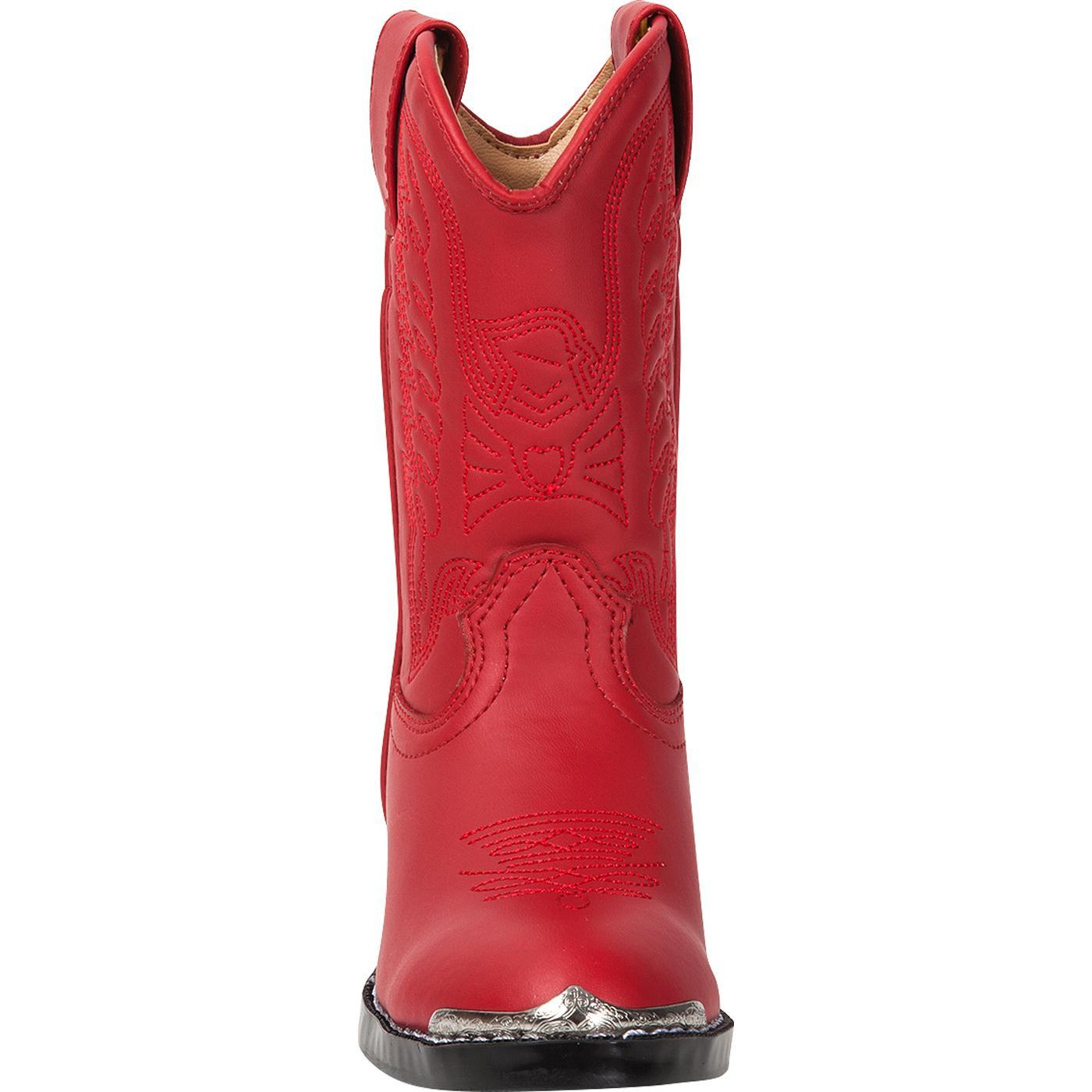 muy genial disfruta el precio más bajo colores delicados Botas vaqueras rojas para niños pequeños Durango