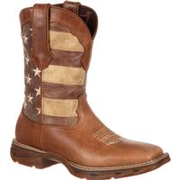 Lady Rebel by Durango Faded Rebel Flag Western Boot, , medium