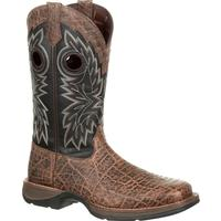 Rebel™ by Durango® Elephant Grain Western Boot, , medium