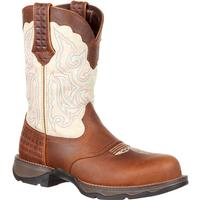 Lady Rebel™ by Durango® Women's Composite Toe Saddle Western Boot, , medium
